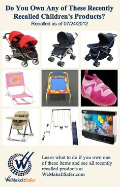 baby boppy chair recall leg pads for hardwood floors 25 best product recalls cpsc images recently recalled children s products including strollers beach chairs high swing sets