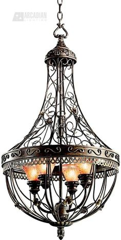 Kichler Lighting Marchesa European Traditional Foyer Light - KCH-42230-TRZ  $430