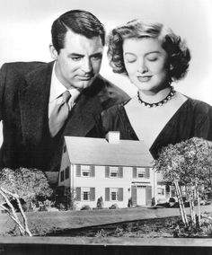 """Cary Grant and Myrna Loy """"Mr. Blandon Builds His Dream House"""""""