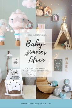 Baby Room Inspiration: the 7 best decorating ideas style-pray-love Interieur & Decoration Decoration Gris, Baby Girl Room Decor, Room Baby, Parents Room, Baby Zimmer, Room Wallpaper, Kids And Parenting, Kids Bedroom, Room Inspiration