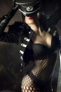 500px / Photo military-fashion-girl by rafael de Rivera