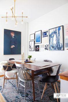 Lonny market editor Cat Dash's dining room