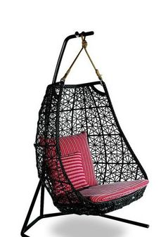 unusual patio furniture Small and Modern Outdoor Furniture Design – Garden Patio by Patricia . Outside Furniture, Outdoor Furniture Design, Wicker Furniture, Furniture Ideas, Hanging Furniture, Unusual Furniture, Adirondack Furniture, Hanging Chairs, Funky Furniture