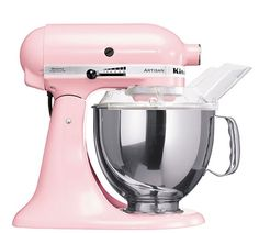 Becuase who doesn't need a pink Kitchen Aid mixer?!  kitchenaid.com - via @babycenter #mothersday #giftsthatgiveback $350