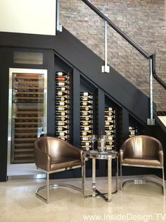 Under stairs space shouldn't be left unused, it's not a dead space! For those of you who love wine we've gathered cool ideas to organize a wine cellar or some simple wine storage space there. Stair Storage, Wine Storage, Storage Ideas, Storage Solutions, Closet Storage, Kitchen Storage, Basement Storage, Office Storage, Hidden Storage