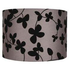 Colours Christina Taupe Flock Light Shade (Dia)353mm: Image 1