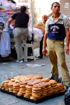 street food in Damascus, Syria