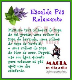 Magia no Dia a Dia: Escalda Pés Relaxante Wicca, Pagan Witch, Numerology, Feng Shui, Witchcraft, Reiki, No Time For Me, Signs, Tarot