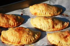 Beef & potato empanada recipe at thekitchn.com.   Vboy's lunch -- oh yes.  I'll teach him how to make them!