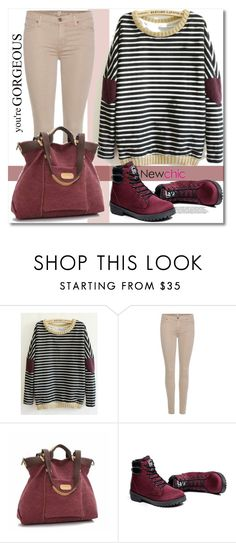 """""""Newchic!"""" by adanes ❤ liked on Polyvore featuring 7 For All Mankind"""