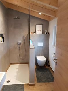 "Bains - EG-Holzhaus.de - Bains – EG-Holzhaus.de ""Bains – EG-Holzhaus.de You are in the right place about trends gifts - Bathroom Vanity Decor, Bathroom Interior Design, Master Bathroom, Bathroom Ideas, Bathroom Showers, Bathroom Small, Bathroom Designs, Bathroom Organization, Small Bathroom Renovations"