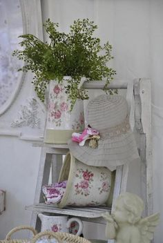 Floral Shabby Chic Decorating Ideas