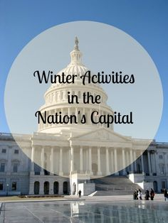 Washington DC is a great place to visit in the winter. The number of tourists is down, but a lot of the usual museums and activities are still open. Weather is mostly temperate and there are also seasonal events. Christmas In Dc, Weekender, Places To Travel, Places To See, Washington Dc Travel, Winter Activities, Outdoor Activities, Travel Usa, Travel Tips