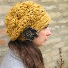Ofira Beret Crochet Pattern by Viktoria Gogolak @Ravelry