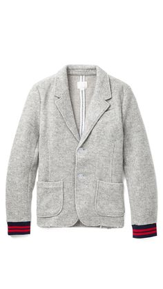 Fleece Schoolboy Blazer