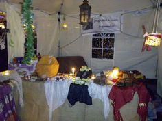 1. Advent 2014 - Weihnachtsmarkt in Ginsheim-Gustavsburg, aber nur mit Pavillon, da mein großes Marktzelt nicht auf den Platz passte.