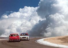 Nissan R31 Skyline & BMW M3 in the Clouds