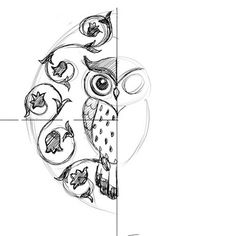 Cute and Girly style.My favorite shape for an owl head. Way cuter than the ones with horns and concave tops of their heads?. Placement?? Could work just about anywhere