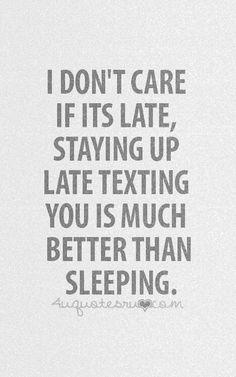 Right now. 3 am till I fall asleep.