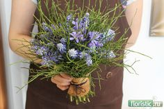 packing bouquet