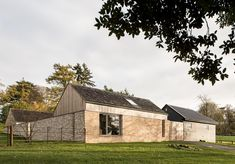 A pottery studio and stable courtyard Passive House Design, Alpine House, Architects London, Rural House, Farm House, Building Layout, Timber House, Modern Barn, Residential Architecture