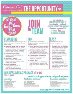 Join my Team!  Love Origami Owl! www.darlingpendants.origamiowl.com
