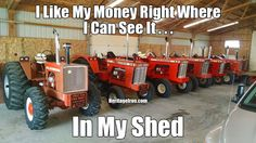 #FundayFriday What kind of money do you have sitting in your shed? Show us in the comments below. Original photo submitted by Darryl Krause.