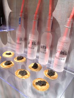 Caviar and belvedere!