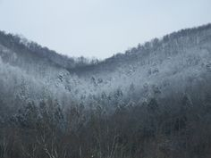 Snow on the Mountain - Harlan, KY