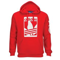 adidas Originals Street Graphic Pull Over Hoodie - Men's - Casual ...