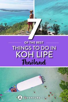 Koh Lipe is probably is most beautiful of all beautiful islands in Thailand! Make sure to go there while traveling through Thailand! Thailand Travel Guide, Visit Thailand, Asia Travel, Diving Thailand, Pattaya Thailand, Koh Phangan, Chiang Mai, Phuket, Bangkok
