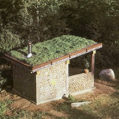 Cordwood Masonry Sauna, this is what the new chook house will be like!