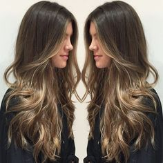 Related posts:Blonde not so long hair and nice earringsPretty work outfit is here now!Short hair before and after Balayage Hair, Ombre Hair, Brunette Ombre Balayage, Hair Color And Cut, Hair Highlights, Color Highlights, Hair Day, Gorgeous Hair, Hair Looks