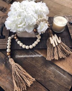 Add a welcoming touch to your home with the handcrafted Southern Vintage Home Decor Beads. Drape them around lamps or vases, add that finishing touch to tables, the options are endless! Contact us with any custom order questions