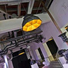"Apollo Black&gold by Romy Kühne Design at former brewery ""De Hoorn"" in Leuven, Belgium"