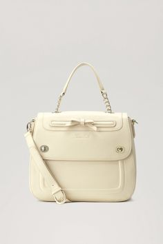 TWIN-SET Simona Barbieri: Shoulder bag with front pocket and bow Twin, Shoulder Bag, Pocket, Handbags, Purses, My Style, Accessories, Bow, August 2013