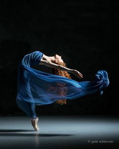And, something magical...Lexi Harrington, SLK Ballet, Broadway, New York City, US, photo by Gene Schiavone.