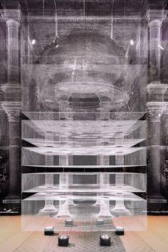 Architecture de maillage métallique Architecture de maillage métallique Edoardo Tresoldi