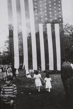 "Robert Frank, 4th of July, New York 1955. From ""The Americans"""