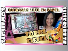 DIORAMA DE PARIS. TORRE EIFFEL. Arte en Papel/Paper Art. - YouTube