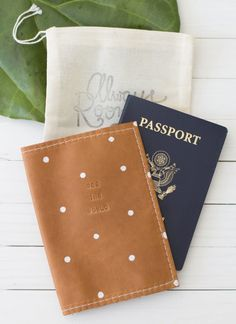933b343ec76 30 Gifts For The Wanderlust-Obsessed Person In Your Life. Diy Leather  Passport HolderLeather Passport WalletDiy WalletTravel ...