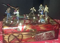 Walking Dead box made for Shauna