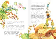Dominique Mertens (Belgium) Illustration Artists, Children's Book Illustration, Character Illustration, Kids Story Books, Food Drawing, Book Layout, Book Design, Childrens Books, Book Art