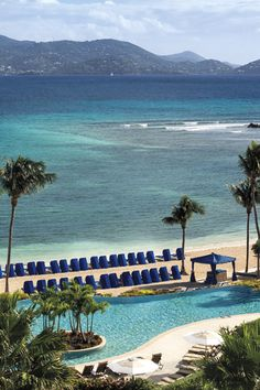Escape to an island resort oasis in St. Thomas surrounded by crystal blue waters, white sand and lush tropical greenery. A breathtaking 30-acre, oceanfront luxury hotel, The Ritz-Carlton, St. Thomas is a Caribbean marvel styled after traditional