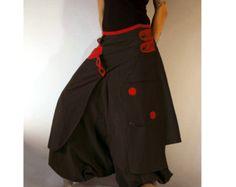 Harem Pants Skirt Aladdin Trousers Boho Afghani by manaKAmana