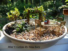 Fairy Garden ~created by Nina Eary~