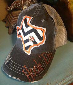 University of Texas Longhorns State Baseball Bling Ladies Womens Trucker Hat on Etsy, $36.00