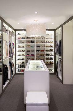 A Superior Dressing Room, by Interior Designer Diane Bergeron