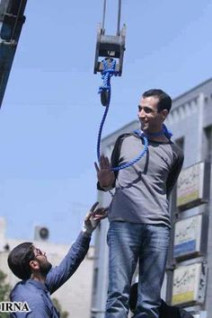 Majid Kavousifar and Hossein Kavousifar, his nephew, were hanged in front of Tehran's Ershad judiciary complex, where they shot dead judge Hassan Moghaddas in his car in Que Horror, Broken Soul, Positive Motivation, Hard Truth, Mad Men, Old Photos, The Darkest, Revolution, Death