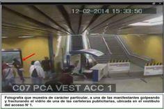 VIDEOS DE LOS ROSTROS DE LOS MANIFESTANTES QUE CAUSARON DESTROZOS AL METRO SE LLEVAN A FISCALÍA